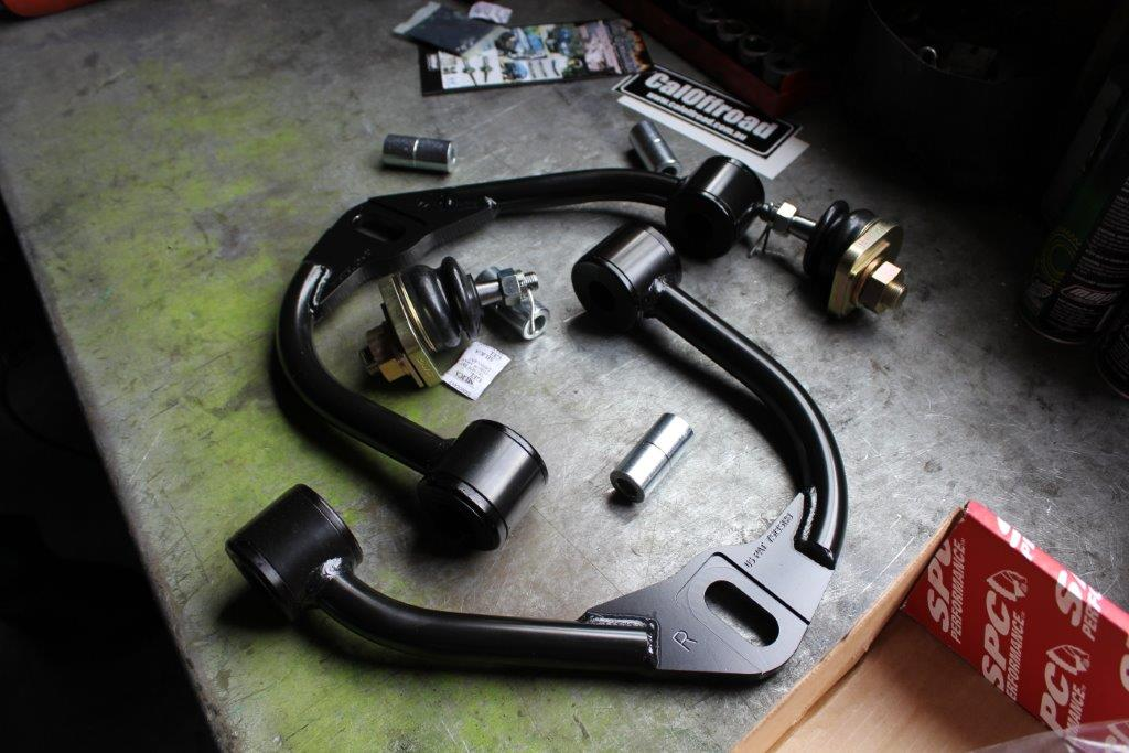 Upper Control Arms.