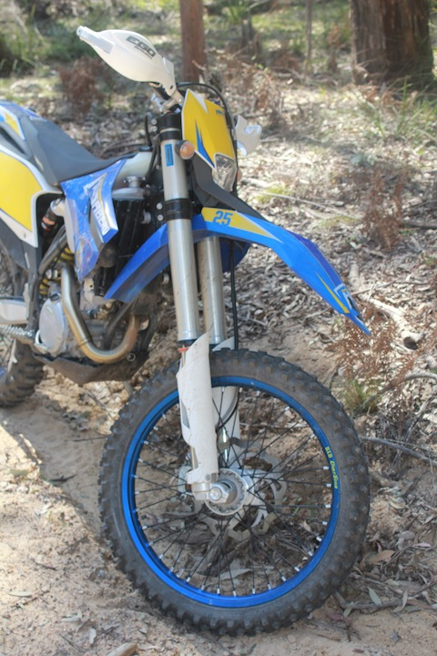 The Husaberg.