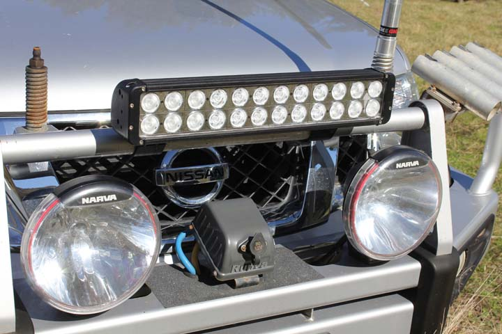 The new Light Bar.